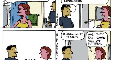 intelligent sexual design ted rall cartoon
