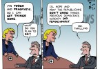 ted rall hillary clinton cartoon