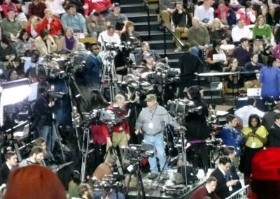 Donald Trump rally media savvy