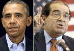 Antonin Scalia Barack Obama