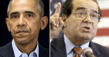 Antonin Scalia Barack Obama