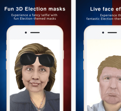 camo live masks for presidential debate
