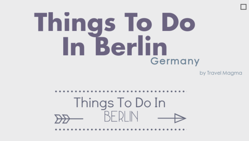 Things To Do in Berlin science week 2016