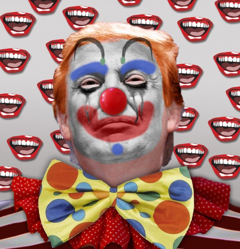 Donald Trump scarcy clown epidemic