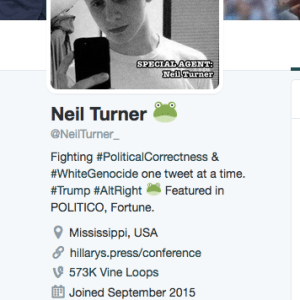 neil turner neilturner trump bot fake news