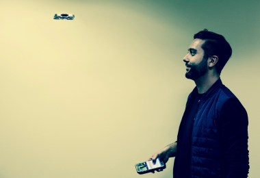 air selfie drone flying camera airselfie cost kickstarter preorder