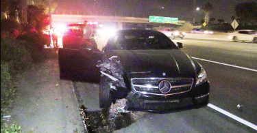 Mike Trout car wreck