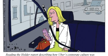 uber cartoon