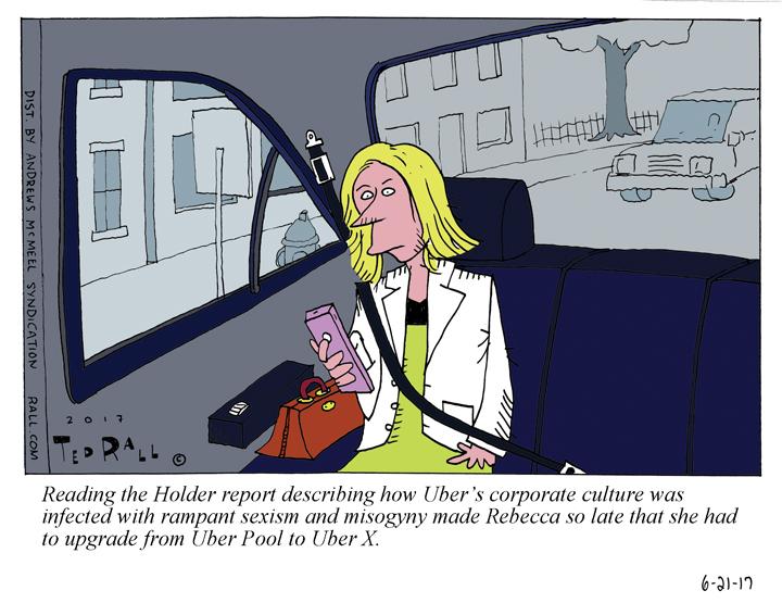 uber cartoon