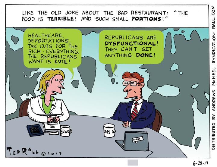 ted rall trump cartoon