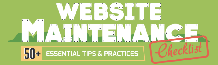 Wordpress Website Maintenance checklist infographic wordpress site wordpress blog seo maintenance tips and tricks