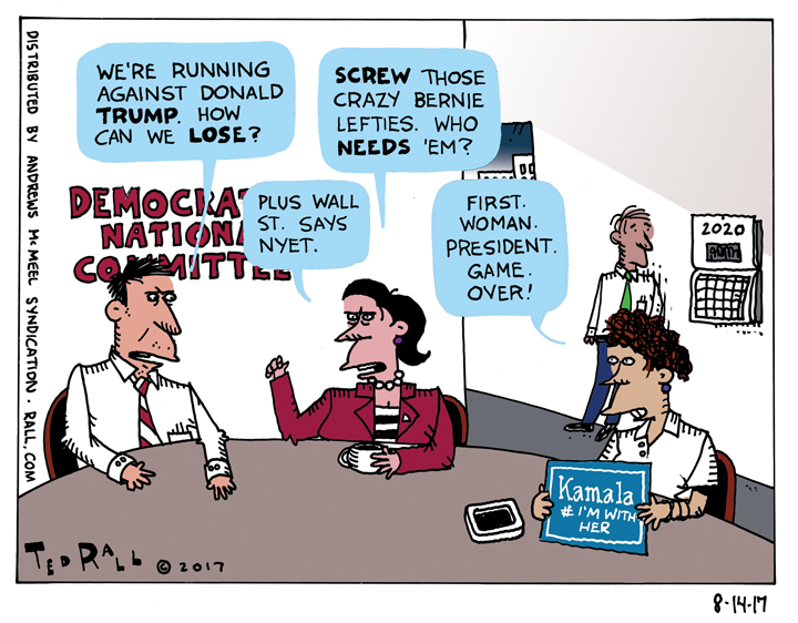 And Sen. Kamala Harris Will Be Playing Hillary ... [cartoon]