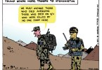 ted rall afghanistan cartoon