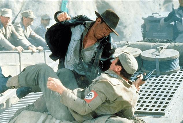 punch a nazi indiana jones trump kkk chris yeh blog