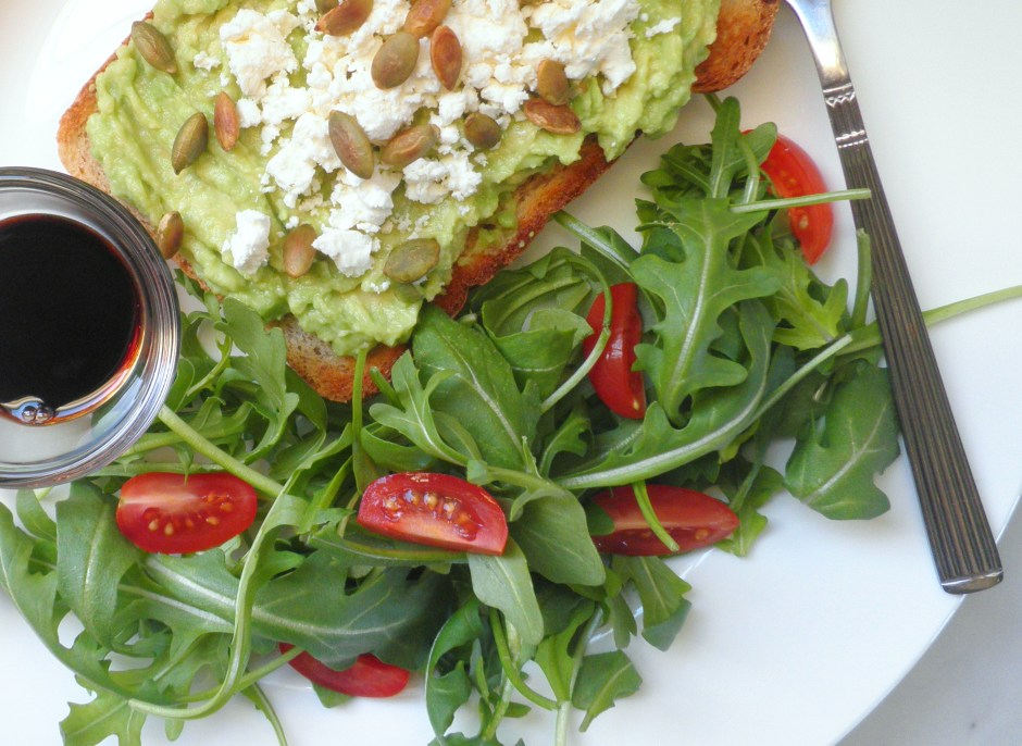 Avocado Toast with Rocket