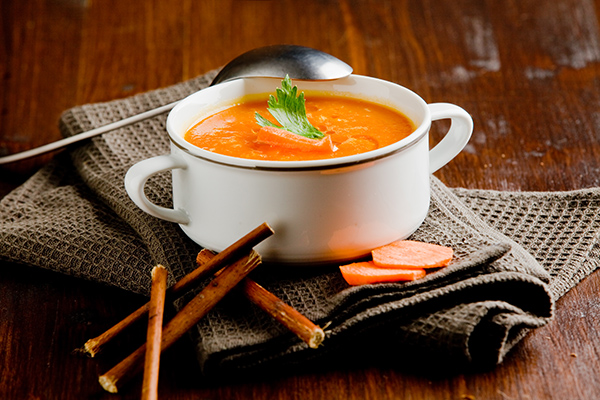 Carrot and Coriander Soup, serves 4-6