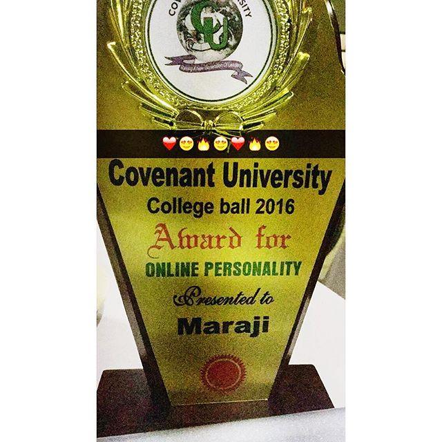Maraji Covenant Award