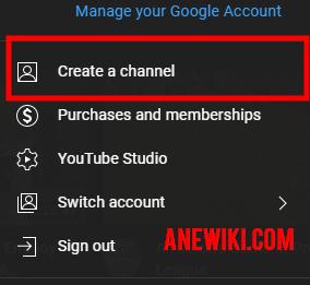 Go to YouTube settings