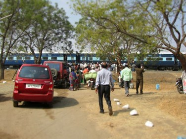 india street train