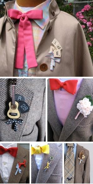 prendidos de boda originales