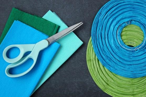 material piñata casera