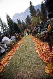 decoracion boda otoño