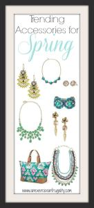 Trending Accessories for Spring 2014