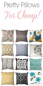 Best Throw Pillows Under $20