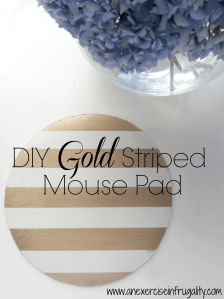 Gold Mouse Pad Tutorial