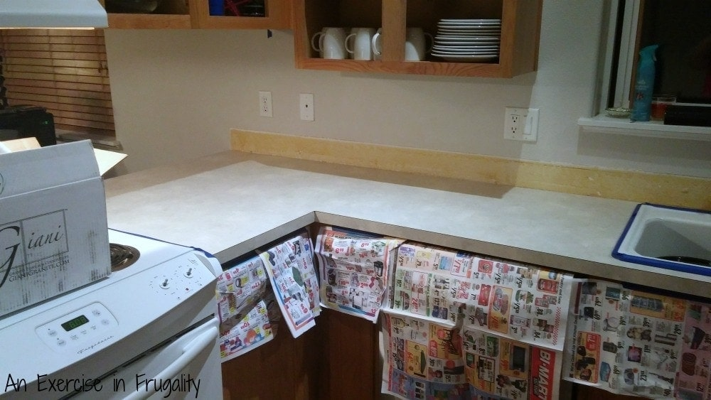 giani faux granite counter paint