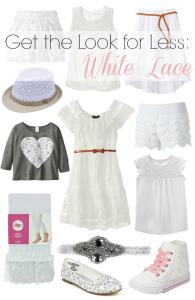 White Lace: Get the Look for Less