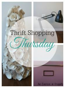 Thrift Shopping Thursday: Office Decor