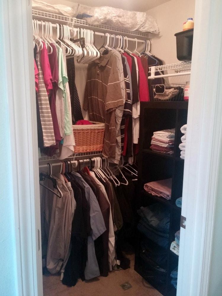 space saver closet organization