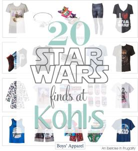 Fun Star Wars Finds at Kohl's