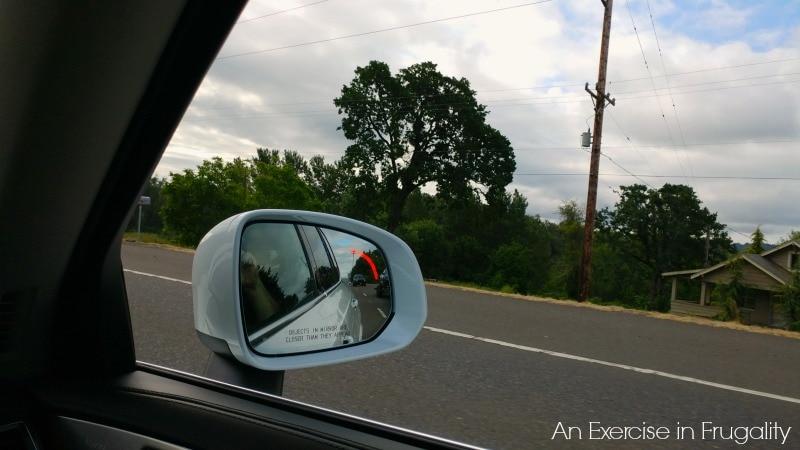 Volvo XC90 Blind Spot Alert
