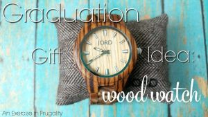 Graduation Gift Idea: JORD Wood Watches