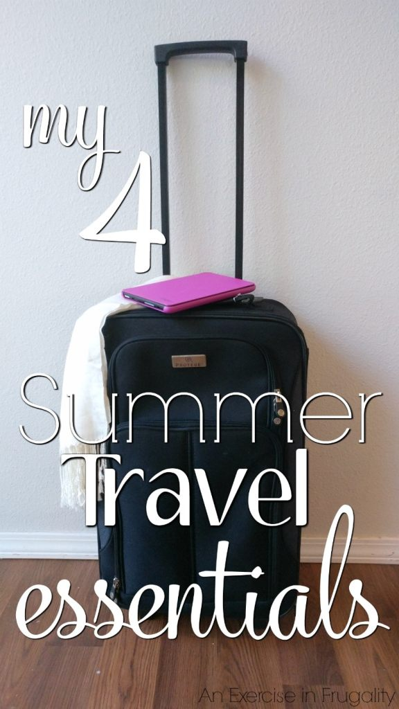 My 4 Summer Travel Essentials- I don't recommend hitting the road this summer (or any time of year) without these 4 staples. I use these every time I travel, especially #4! Amazon   Tablet   Fire   Travel   Essentials  #Ad