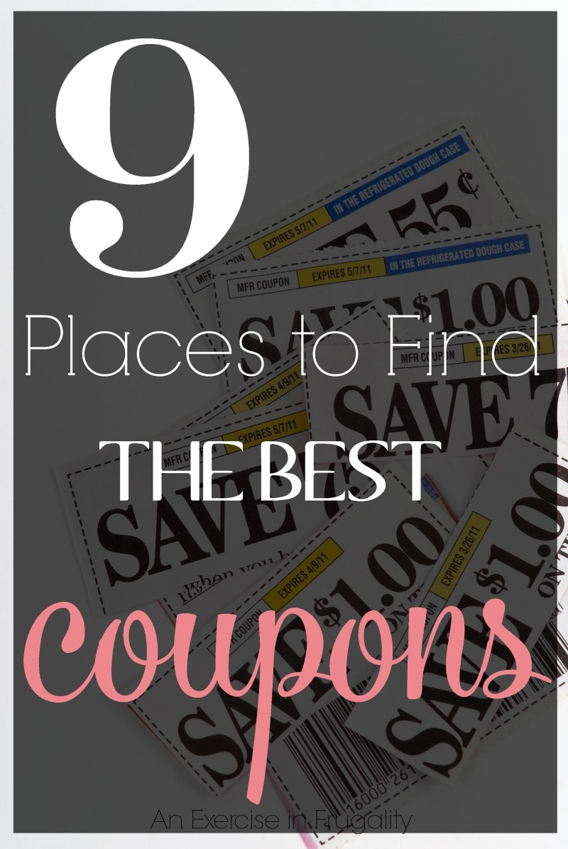 find the best coupons