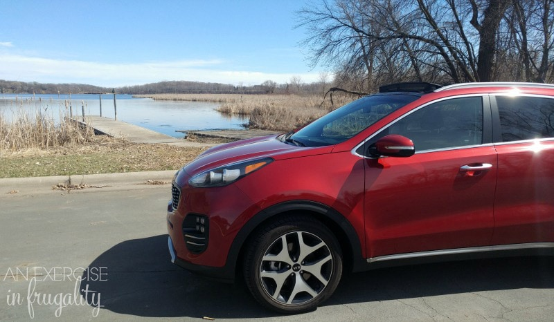 2017 Kia Sportage-I have never driven a Kia before but I gotta say I was really impressed! Once I started paying attention I realized that there are Kias everywhere. Great family SUV, lots of space and of course fun to drive! #DriveKia #DriveShop #ThePowerToSurprise #ad