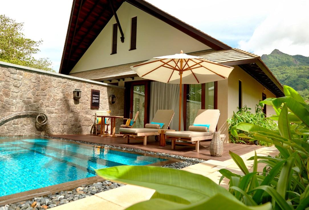 Beach Villa Pool Sun Loungers