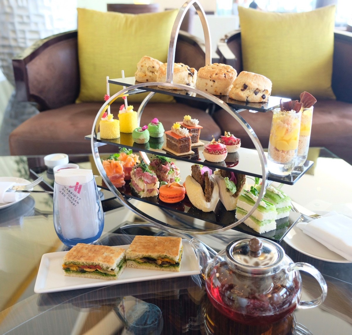 Afternoon Tea |Marriott Hotel Al Forsan