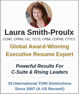 Laura Smith-Proulx Executive Resume Writer