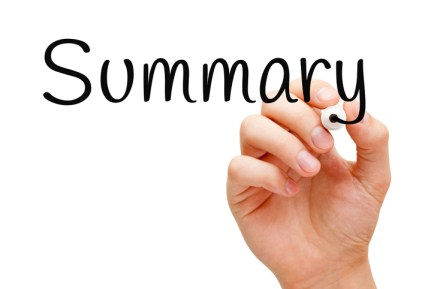 how to write resume summary
