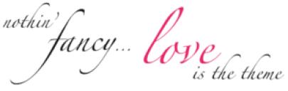 art: nothin' fancy... love is the theme