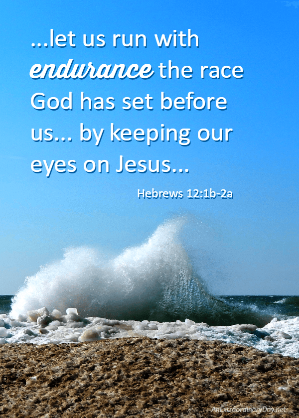 Image result for run the race scripture
