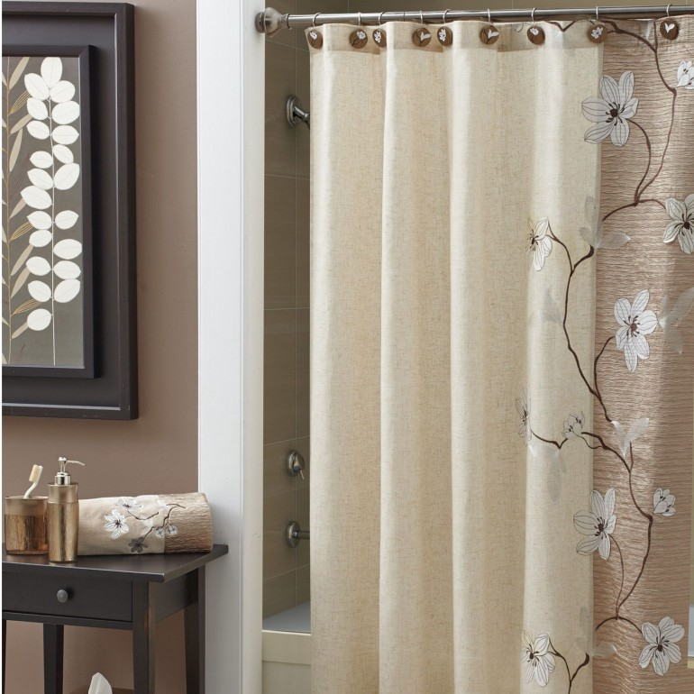 Bathtub Shower Curtain Ideas Girly Curtains Designer Bed Bath