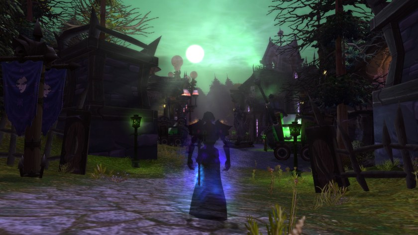 Forsaken shadow priest Anexxia walks into the beautifully redesigned Brill.