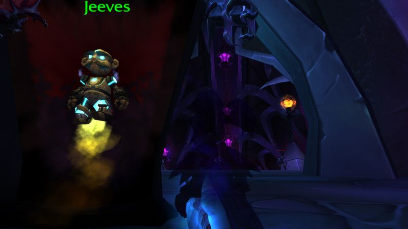 If the shadow priest's gear is broken, it's probably time to change the strat.