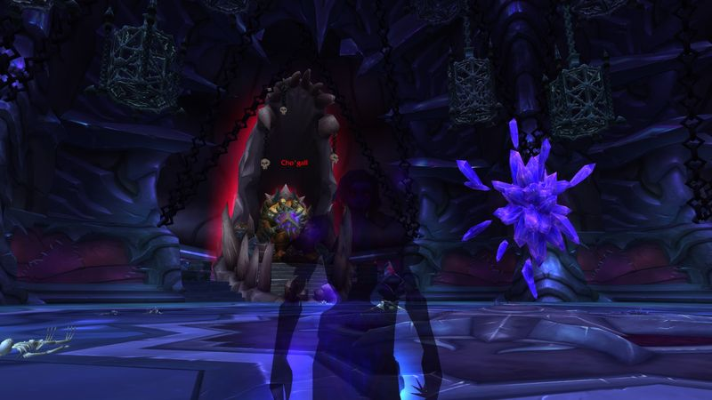shadow priest Anexxia stares down Cho'gall