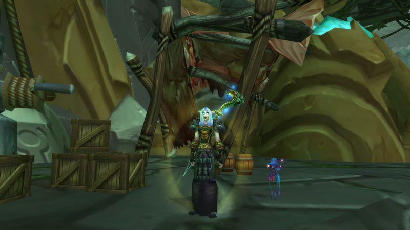 My Druid's got Legs...the new Outlands Children's Week pet!